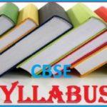 CBSE Syllabus