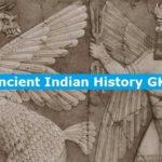 Ancient Indian History GK Quiz