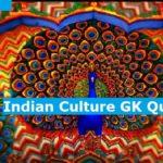 Indian Culture GK Quiz