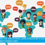 world national and official language