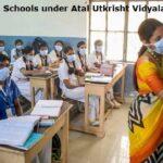 List of 188 Schools under Atal Utkrisht Vidyalaya Yojana