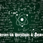 Physics Gk Questions & Answers