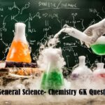general science- Chemistry gk questions
